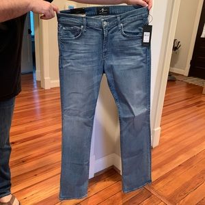 NWT men's 7 for all mankind jeans